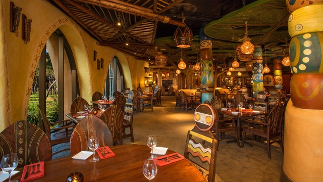 Boma Flavors of Africa (breakfast) - Sanaa (dinner)