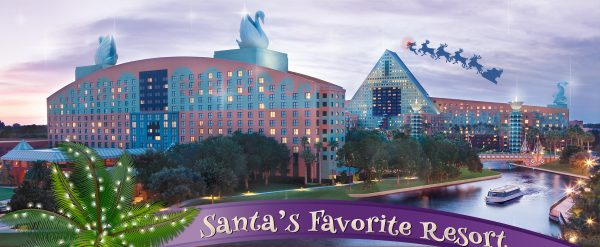 Swan and Dolphin 2020 holiday offerings