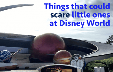 scarelittleones 390x250 - Things that might scare little ones at Disney World