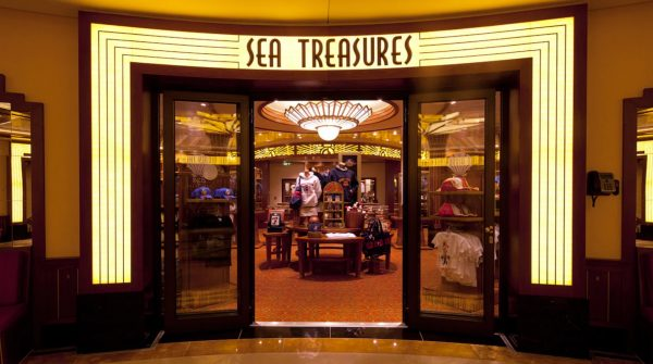 Sea Treasures on Disney Cruise Line