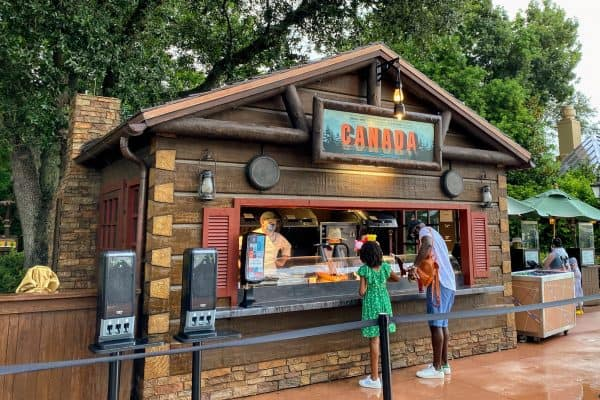 October at Disney World Canada Food and Wine