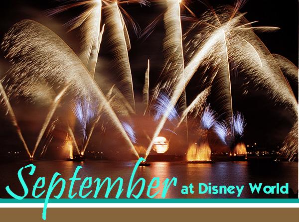 septemberheader - September 2019 Disney World Crowd Calendar