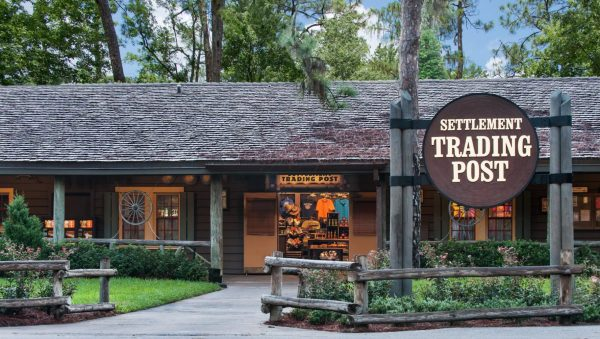 Settlement Trading Post gift store at Disney's Fort Wilderness Cabins