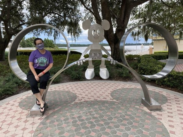 Mickey statue at Contemporary