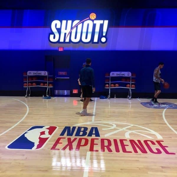Shoot NBA Experience
