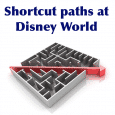 Shortcut paths at Disney World | WDW Prep School
