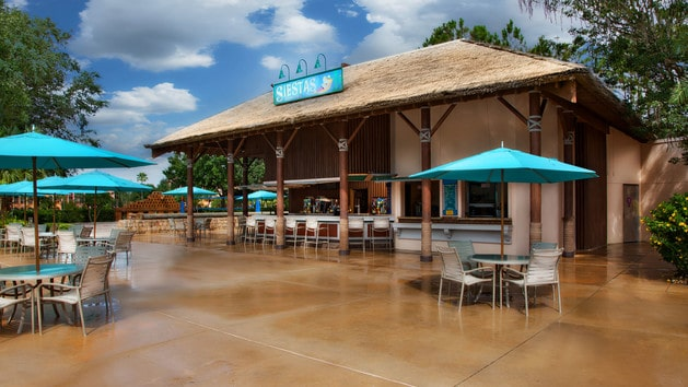 Coronado Springs Resort – Reopening 10/14/20 - Siestas Cantina (lunch) – Temporarily Closed