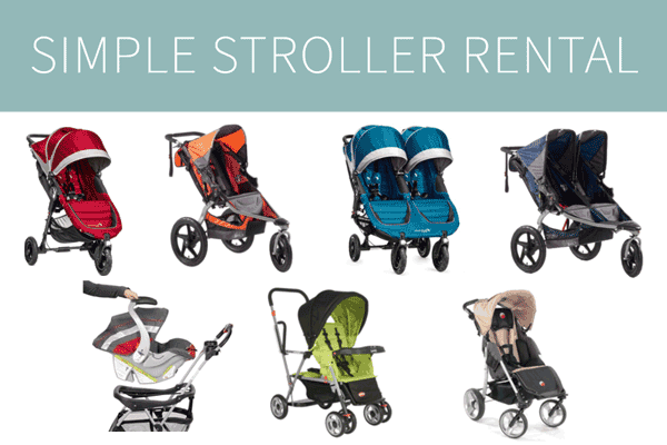 Simple Stroller Disney World strollers