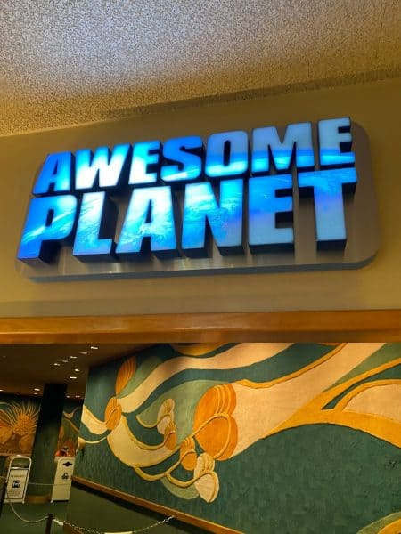 Awesome Planet film in Epcot's Land pavilion