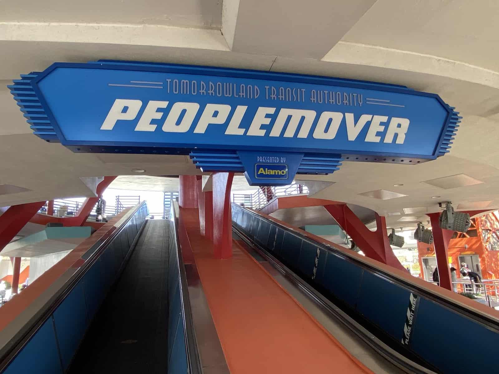 People Mover at Magic Kingdom