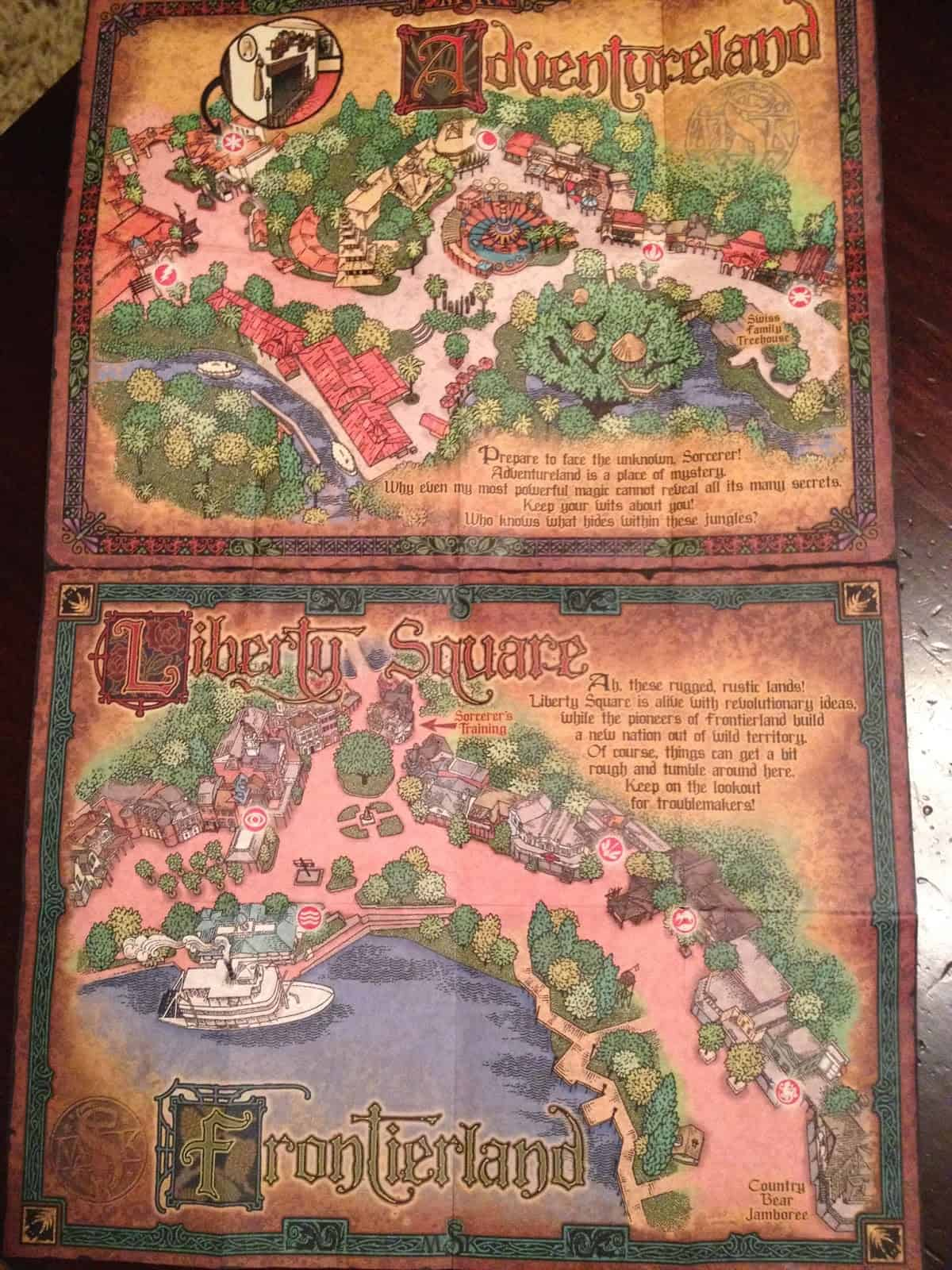 sotmkmaps - How Sorcerers of the Magic Kingdom works