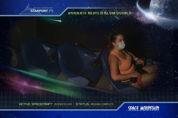 space mountain photopass on-ride photo