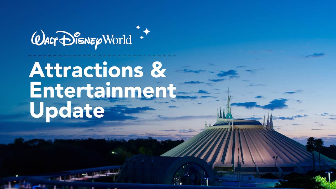 Attractions and Entertainment updates for Disney World's reopening