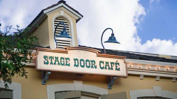 Stage Door Cafe at Disneyland