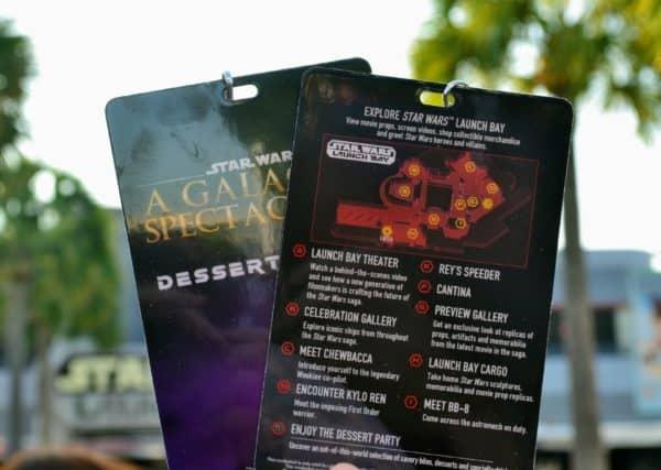 Star Wars Dessert Party credentials