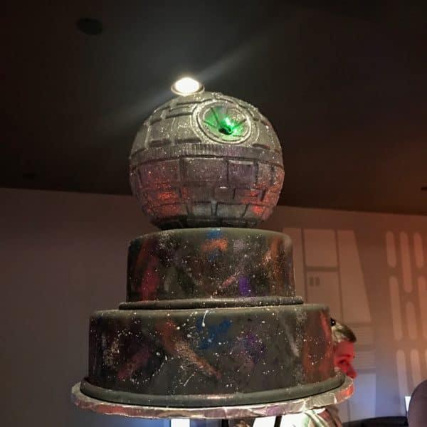 Star Wars dessert party food