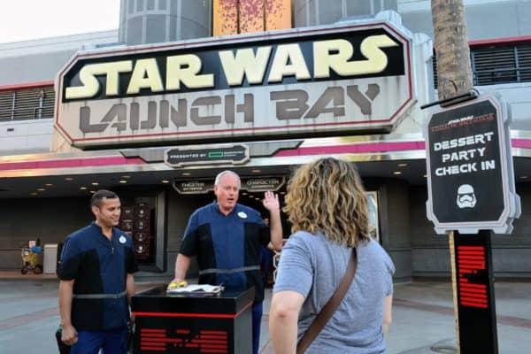 Star Wars Dessert Party check in