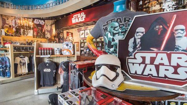 Star Wars merchandise at Disney World