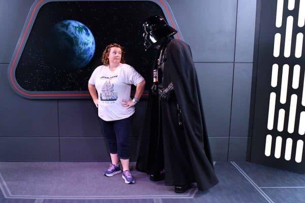 Darth Vader character meet