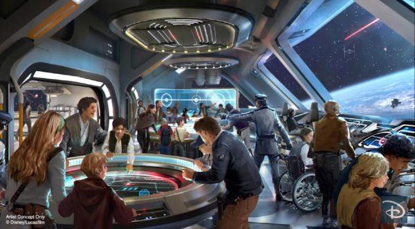 The Bridge on Galactic Starcruiser