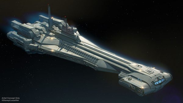 Halcyon on Star Wars Galactic Starcruiser