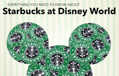 starbucksatdisneyworld 390x250 - Starbucks at Disney World - here's everything you need to know