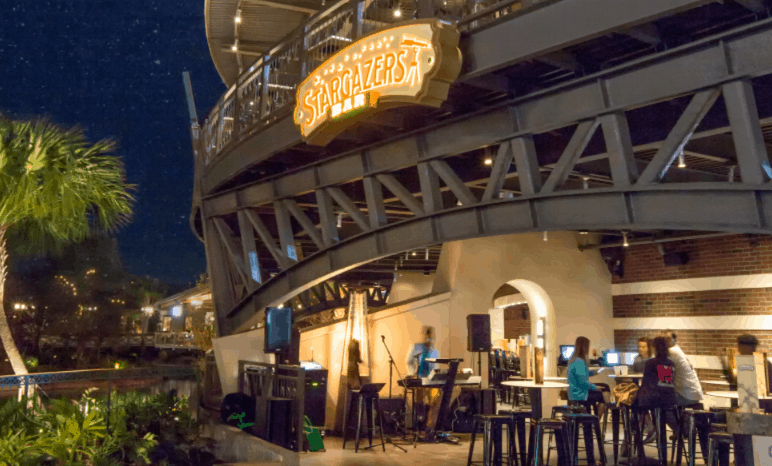Pros and Cons for All Disney Springs Restaurants - Stargazers Bar – Temporarily Closed