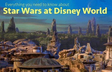 starwars 390x250 - Star Wars at Disney World (including the new Star Wars land)