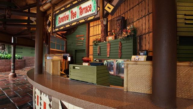 Magic Kingdom Dining - Sunshine Tree Terrace