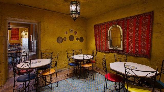 Epcot Dining - Tangierine Cafe (lunch)