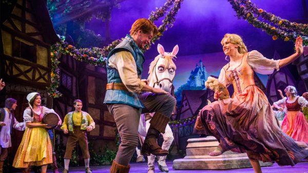 Tangled The Musical on Disney Magic