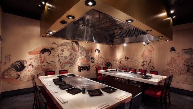 Epcot Dining - Teppan Edo Restaurant (lunch)