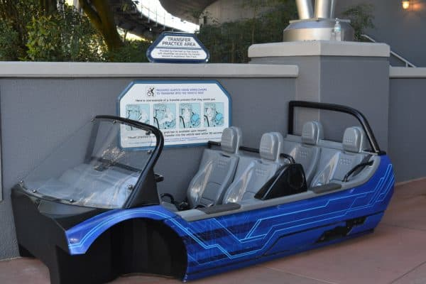 test track ride vehicles