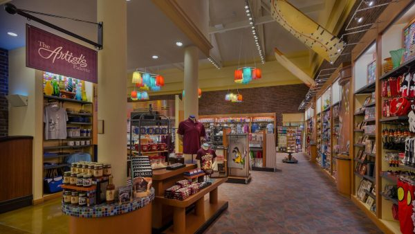 The Artist's Palette gift shop at Saratoga Springs