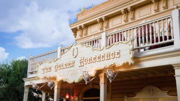 The Golden Horseshoe in Disneyland