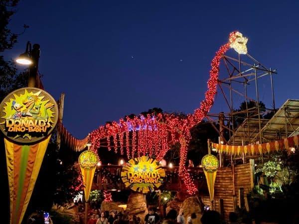 Dinoland at Christmas