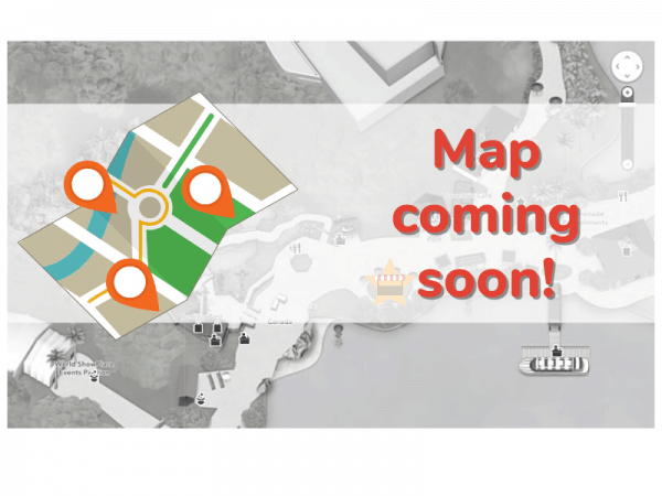 Food and wine festival map coming soon