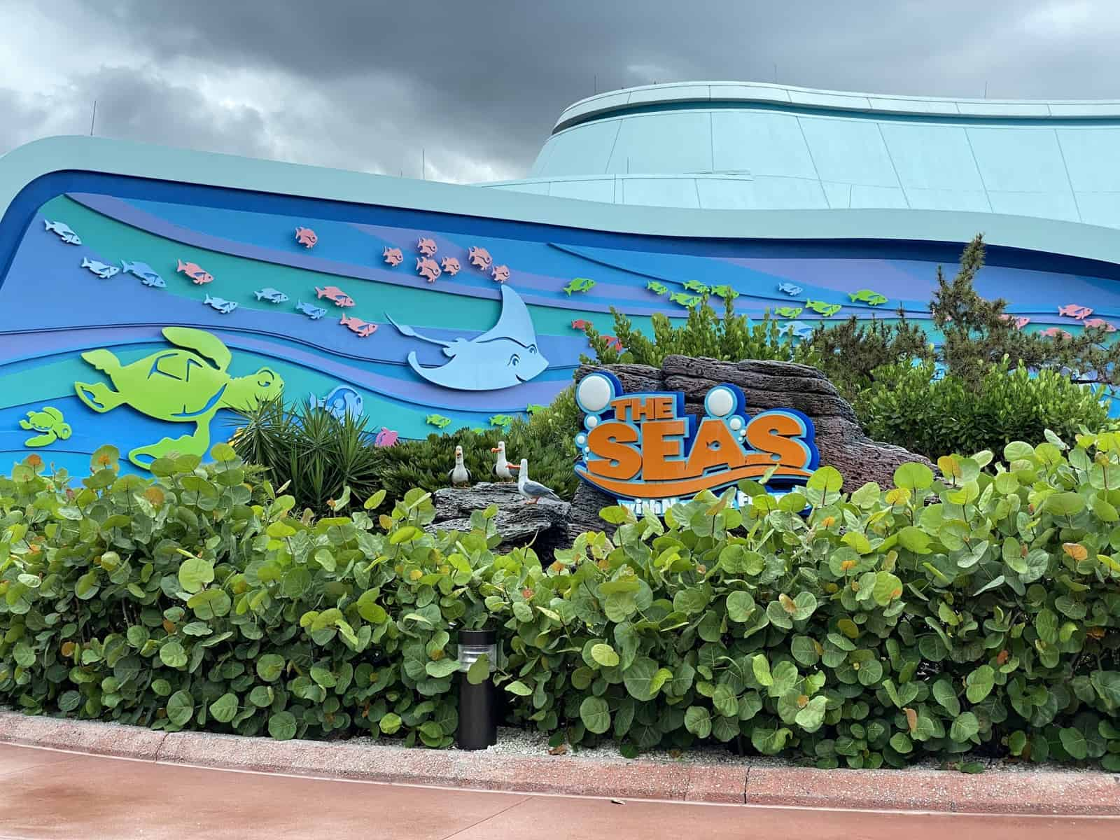 The Seas Pavilion at Epcot