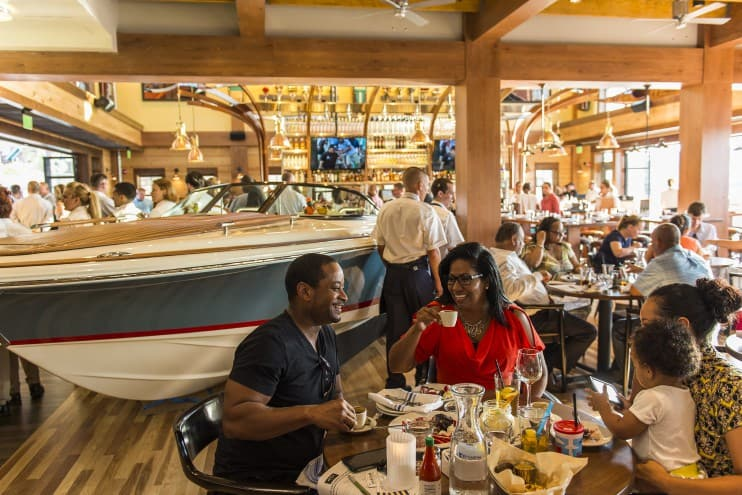 Pros and Cons for All Disney Springs Restaurants - The Boathouse (lunch)