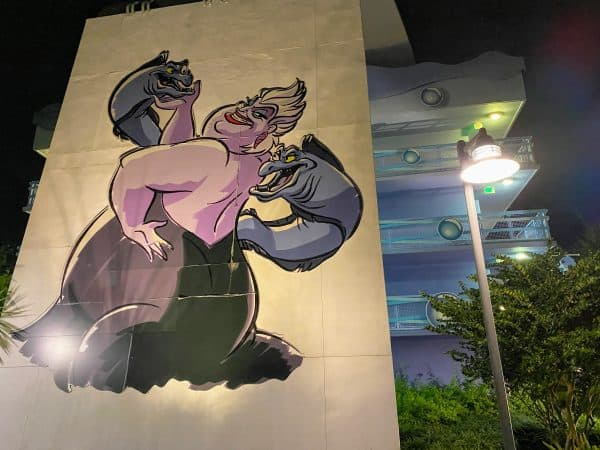 Little Mermaid Section Art of Animation