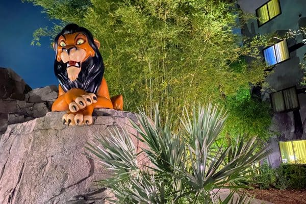 Lion King area of Art of Animation