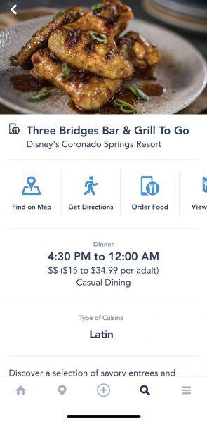 Mobile Order at Three Bridges Bar & Grill