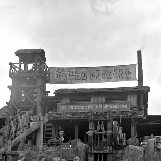 thunder mountain opens at magic kingdom in 1980