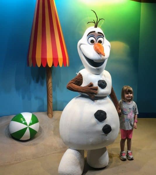 Olaf at Hollywood Studios