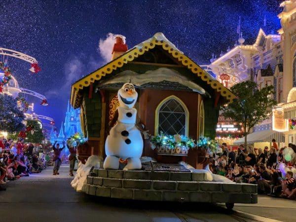 Olaf Once Upon A Christmastime