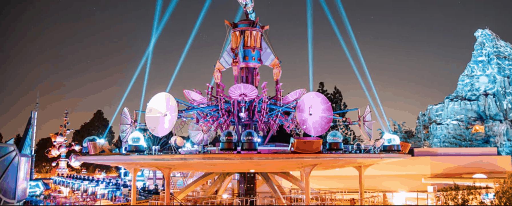 Tomorrowland Skyline Lounge Experience in Disneyland