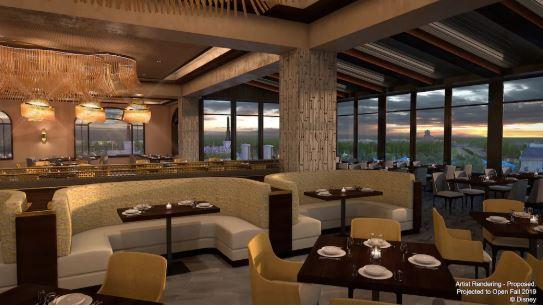 Riviera Resort - Topolino's Terrace (breakfast)