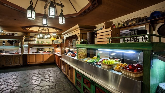 Cabins at Fort Wilderness - Trail's End Restaurant (breakfast)