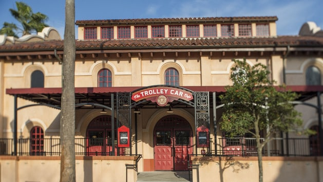 Hollywood Studios Dining - The Trolley Car Cafe