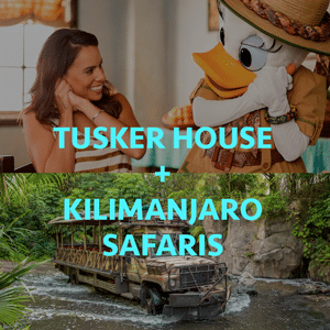 tuskersafaris - Disney World breakfast reservations and a ride - before the park opens!